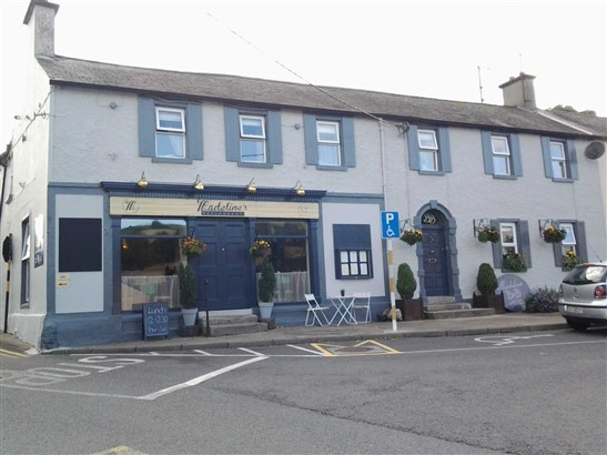 Property for commercial sale & rent on Madeline`s Restaurant and B&B, Dwyer Square, Tinahely, Co. Wicklow, Tinahely, Wicklow