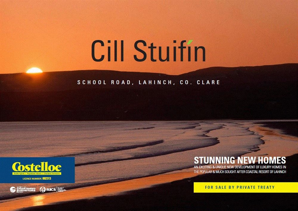 Type B, Cill Stuifín, School Road, Lahinch, Co. Clare