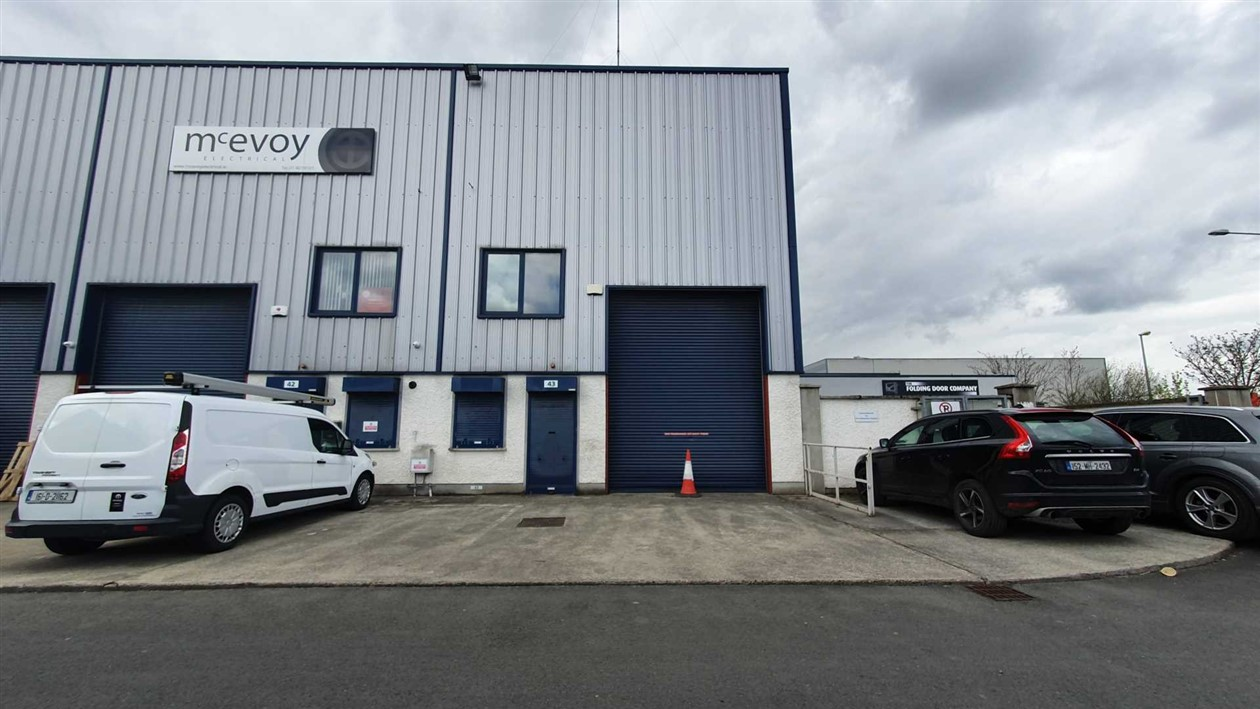 Unit 43 Block 503, Grant's Drive, Greenogue Business Park, Rathcoole, Co. Dublin