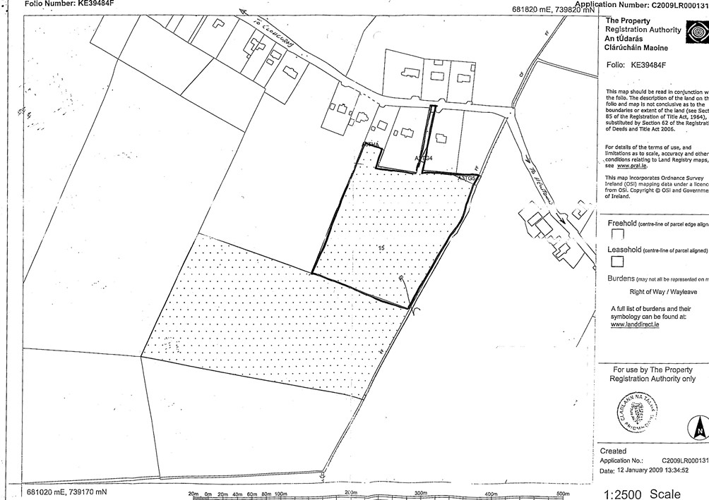 Ballinakill, Newtown, Kilcock, Co.Kildare – approx 40.7 acres