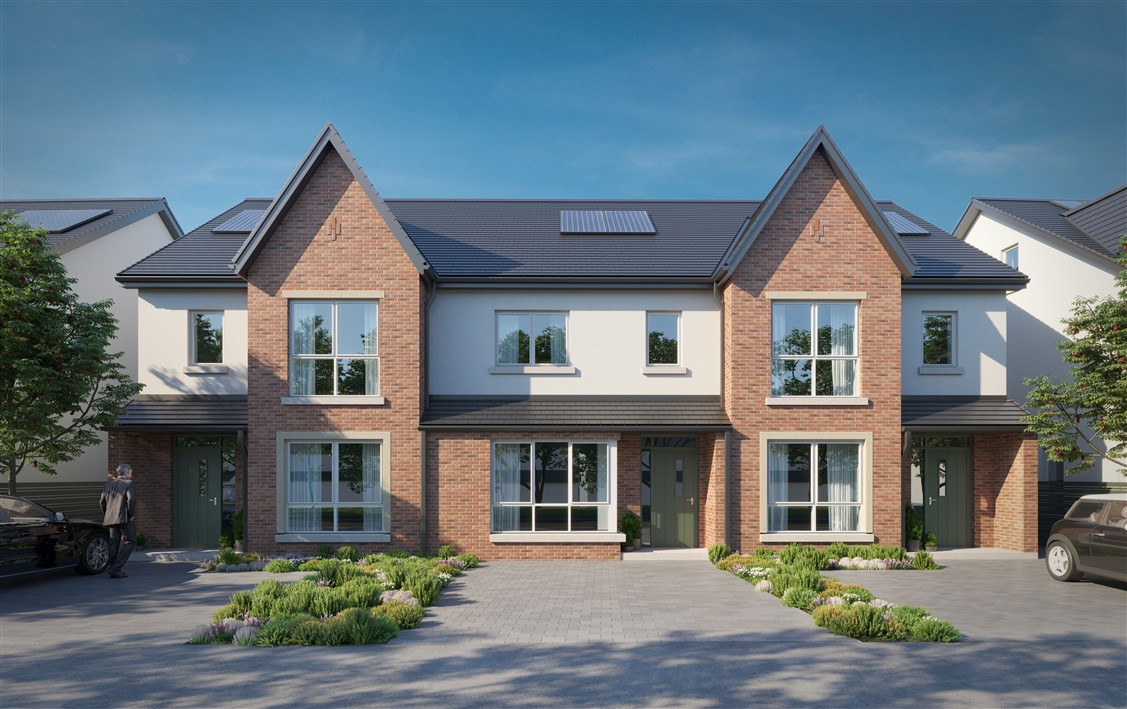 Elsmore, Naas, Co. Kildare – large 3 bed townhouses