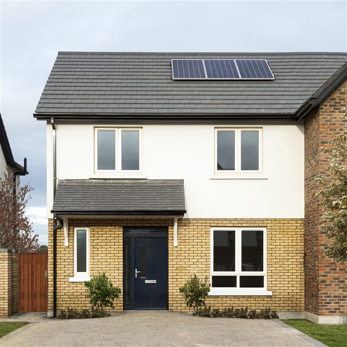 Millerstown, Maynooth Road, Kilcock, Co. Kildare – 2 bed semi-detached.