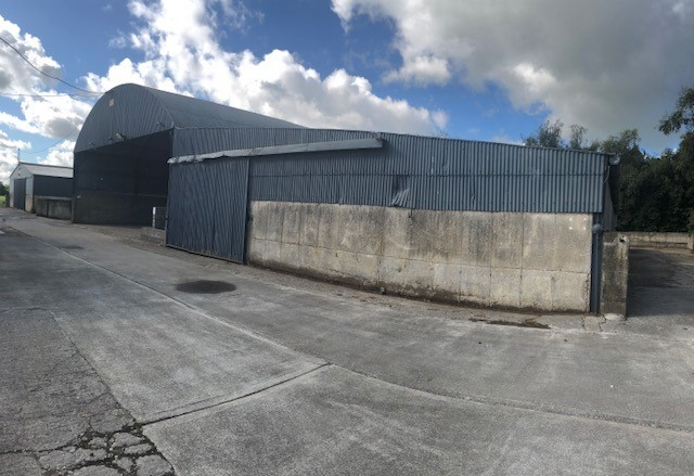 Storage Sheds & Yard, Johnistown, Maynooth, Co. Kildare (near Barberstown Castle)