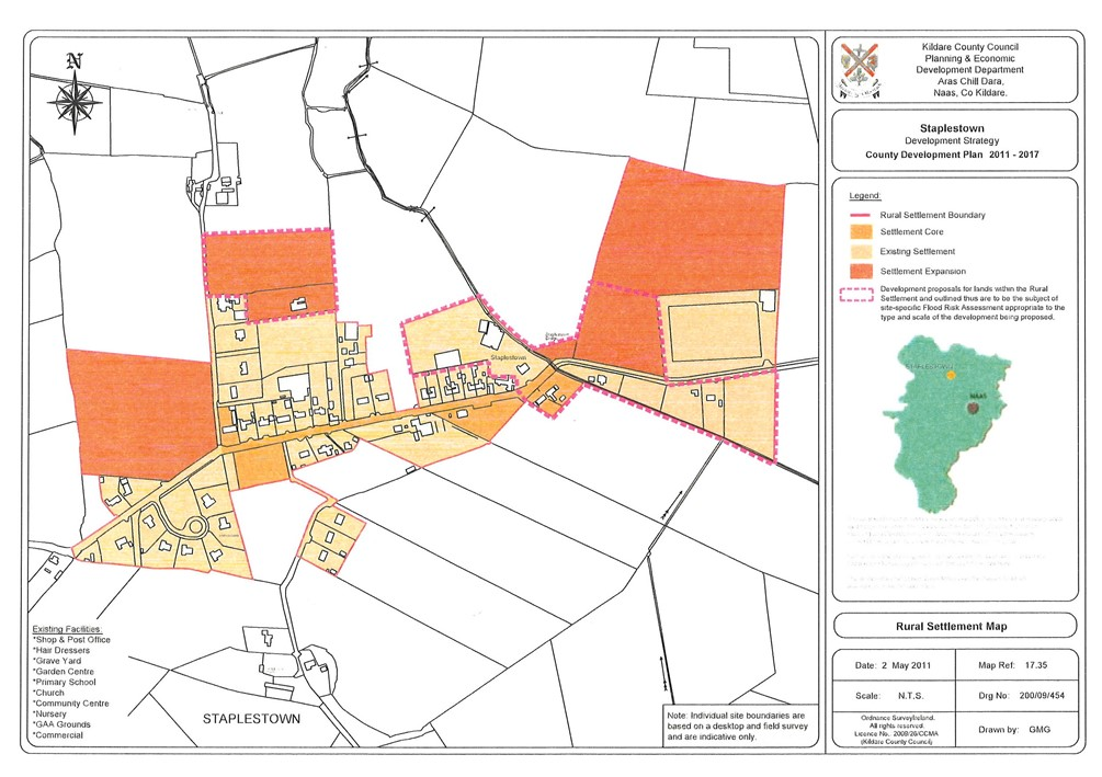 Staplestown, Donadea, Co. Kildare – approx. 6 acres