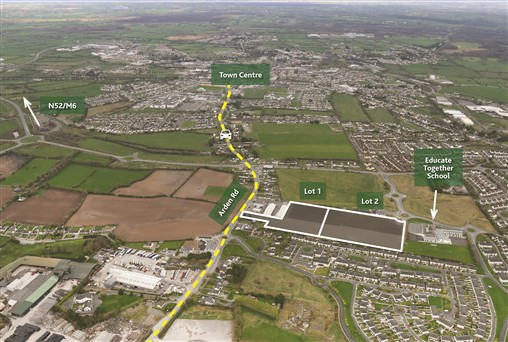 Arden Road, Tullamore, Co. Offaly – Site With F.P.P. For 116 Sites