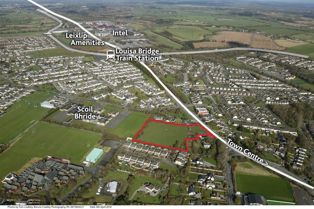 Maynooth Road, Leixlip, Co. Kildare – approx. 3.4 acres Zoned Residential
