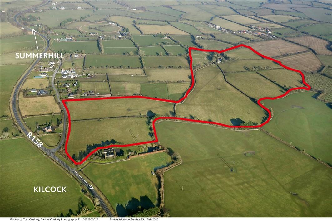 Kilglynn, Kilcock, Co. Kildare – Farmhouse on c.62 acres