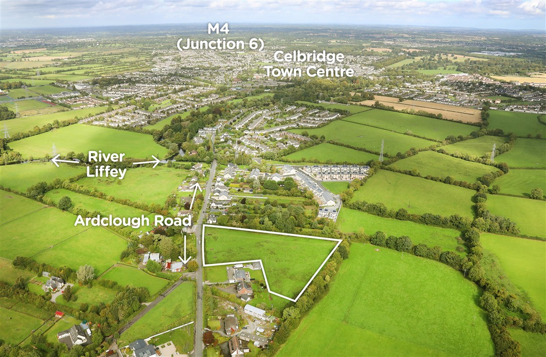 Ardclough Road, Celbridge, Co. Kildare – approx. 4 acres (Zoned Residential)