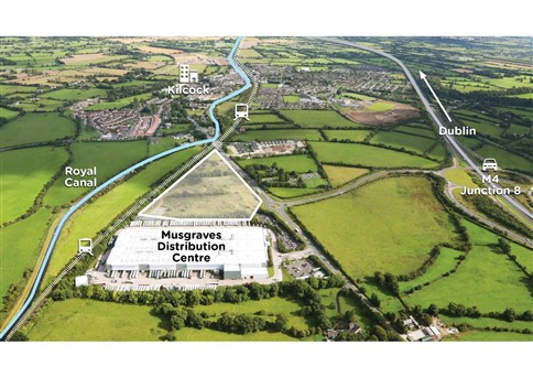 Boycetown, Kilcock, Co. Kildare – approx. 5.56 ha (13.7 acres) – Zoned for Warehousing & Industrial