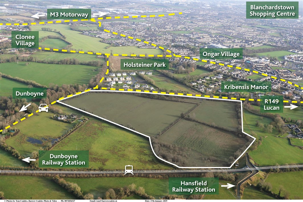 Hilltown, Clonee, Co. Meath – Approx 39 acres (15.8ha)