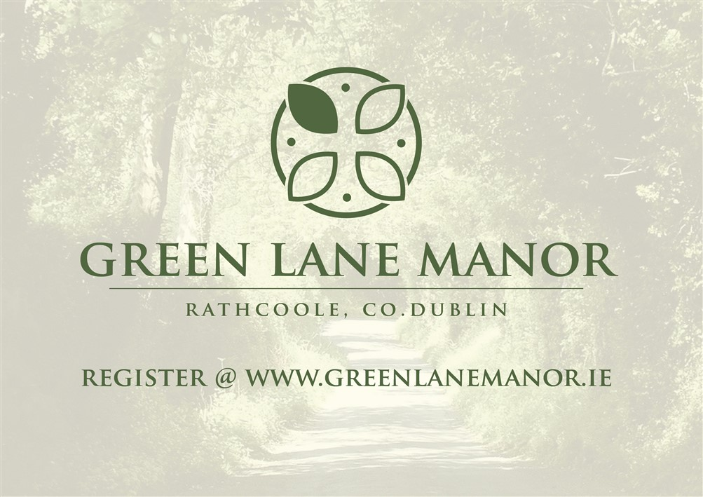 Green Lane Manor, Rathcoole, Co. Dublin 5 bedroom Plus Study 1,991 sq.ft.End of Terrace Type D
