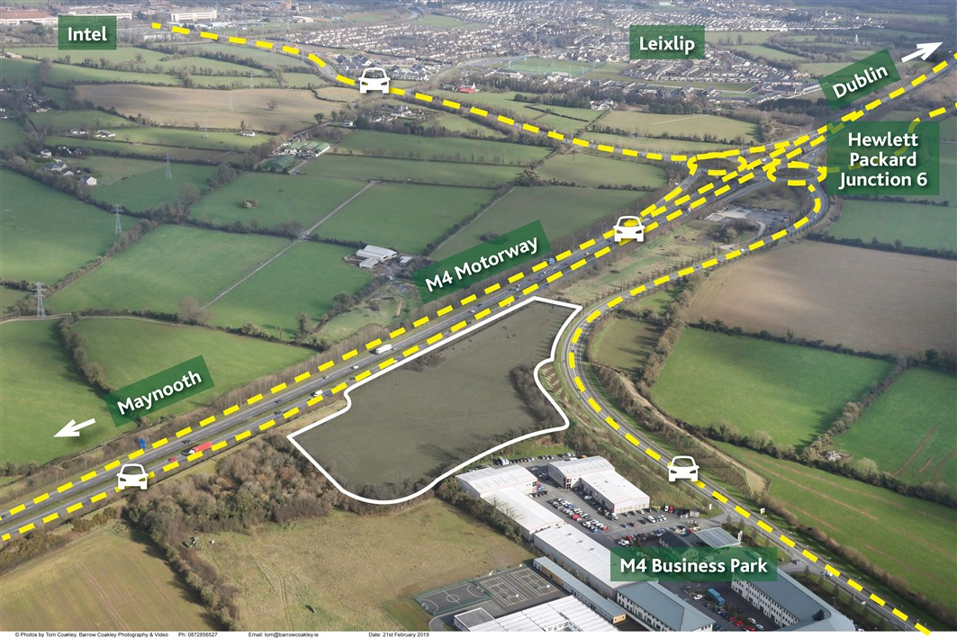 Crodaun, Celbridge,Co. Kildare – Approx. 8.11 acres (3.28 ha)