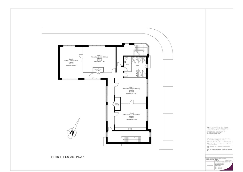 """Creche Facility"", Carton Wood, Maynooth, Co. Kildare"
