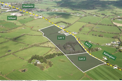 Boherboy, Dunlavin, Co. Wicklow – Approx. 31 acres (12.54ha) in lots