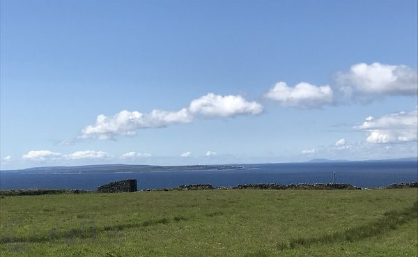 Inisheer View, Lough, Doolin, Co. Clare
