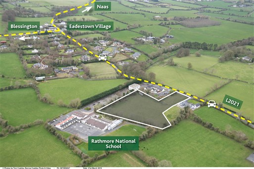 Site with FPP for 4 Houses, Rathmore, Naas, Co. Kildare – Approx. 2.93 acres (1.18ha)