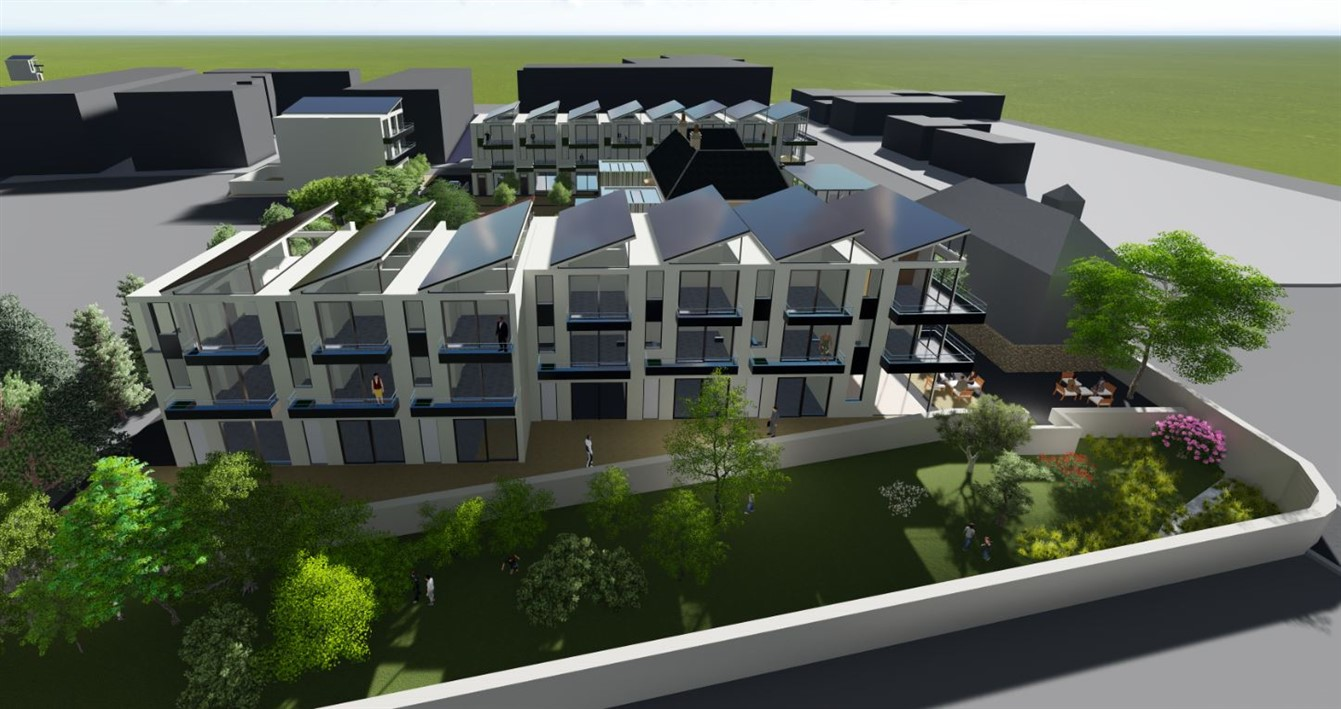 Site with FPP for 58 Bedroom Aparthotel and 9 Retail Units, Rathcoole, Dublin