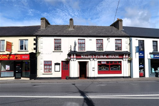 For Immediate Sale 7 Day Licensed Premises The Square, Charlestown, Co. Mayo