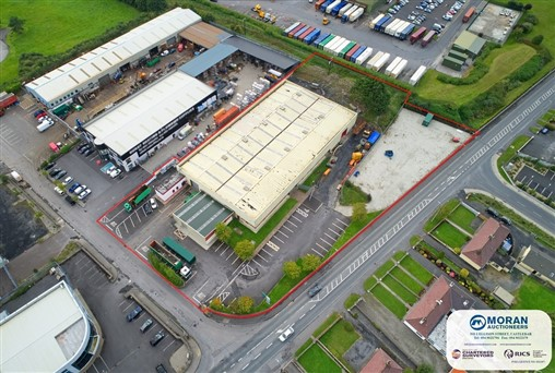 Substantial Industrial Unit to Let Moneen/ Drumconlon, Castlebar, Co. Mayo