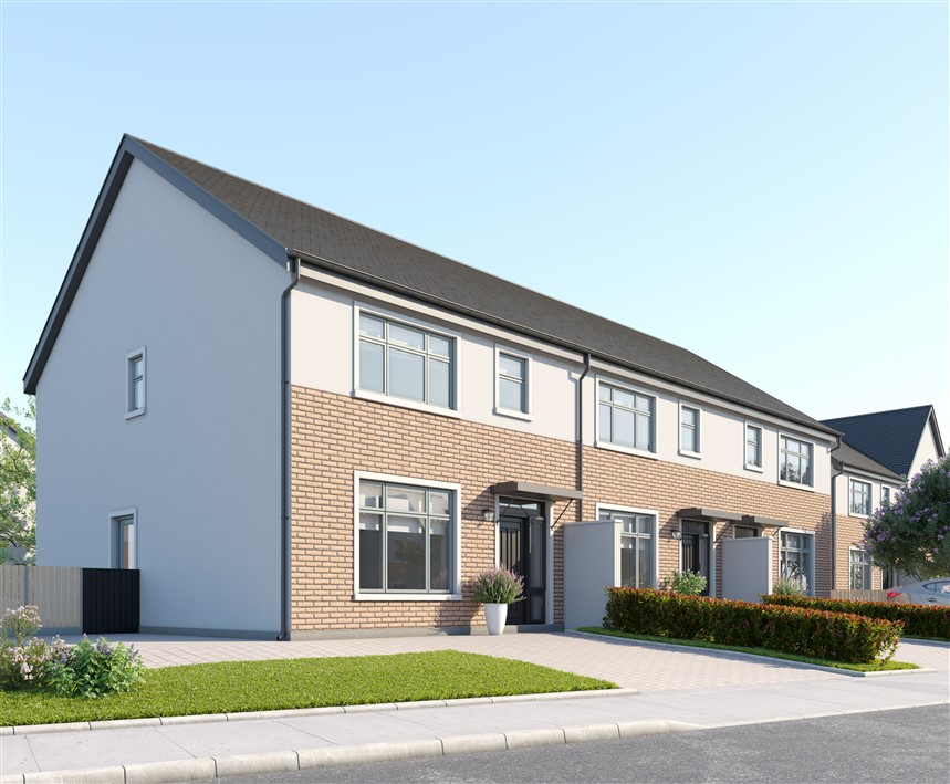 C1 House Type, 3 Bed End Of Terrrace, The Park, Janeville, Carrigaline