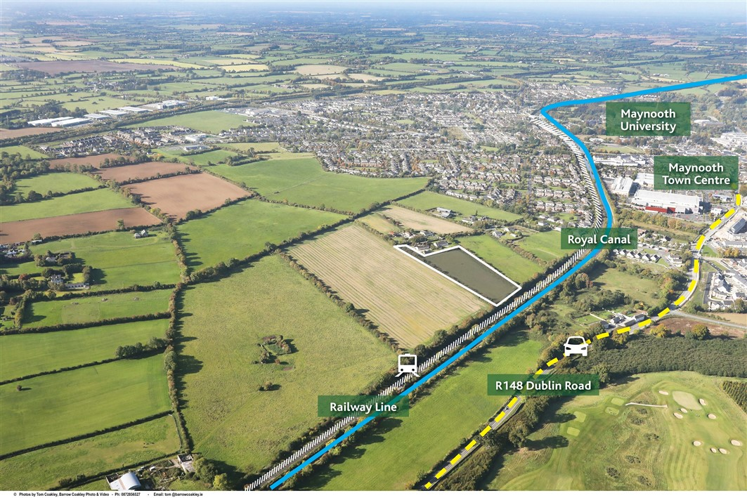 Railpark, Maynooth, Co. Kildare – approx. 4.2 acres Zoned Residential