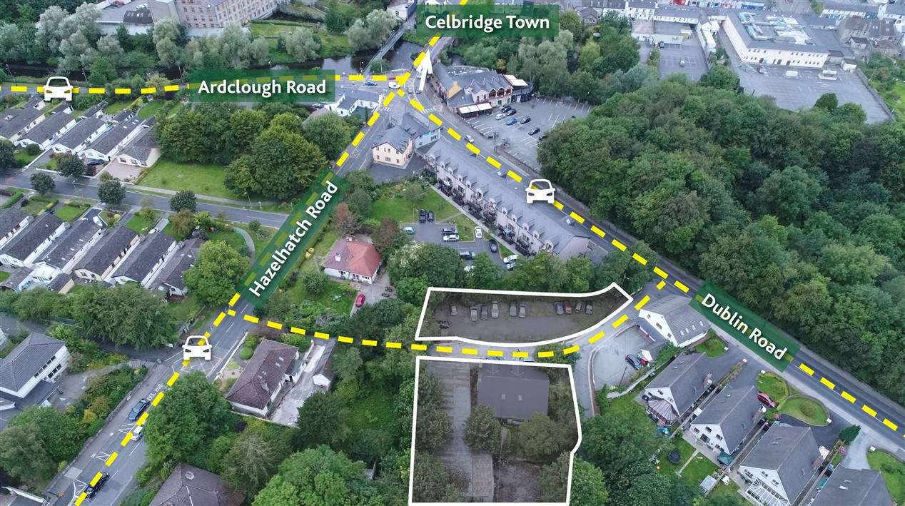 Dublin Road, Celbridge, Co. Kildare – Site with FPP for 6 houses
