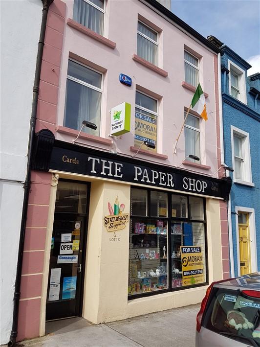 The Paper Shop, Main Street, Kiltimagh, Co. Mayo