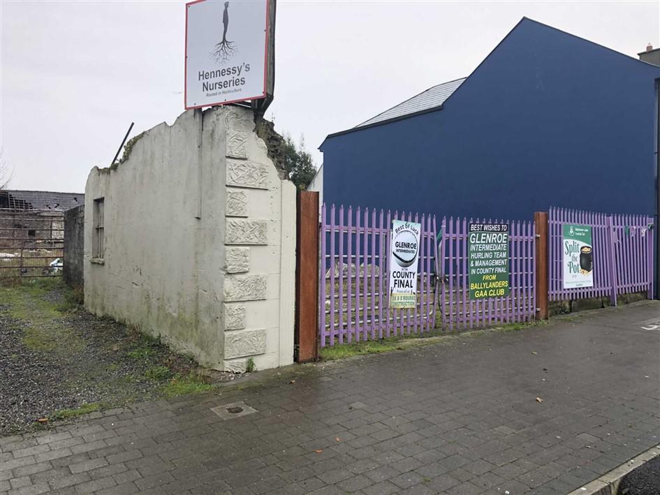 Formerly Hennessey`s Nurseries, Main Street, Ballylanders, Co. Limerick, V35 D7P0