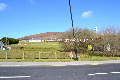 Site for sale , Bangor Erris Village, Bangor Erris, Co. Mayo