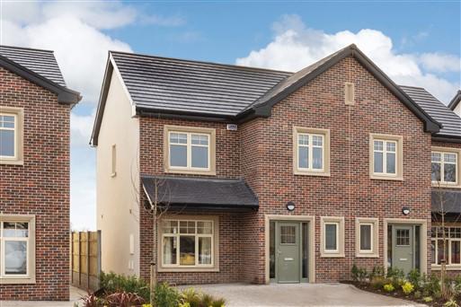 Abbottfield, Clane, Co. Kildare – 3 Bed Mid Terrace 1,200 sq.ft.