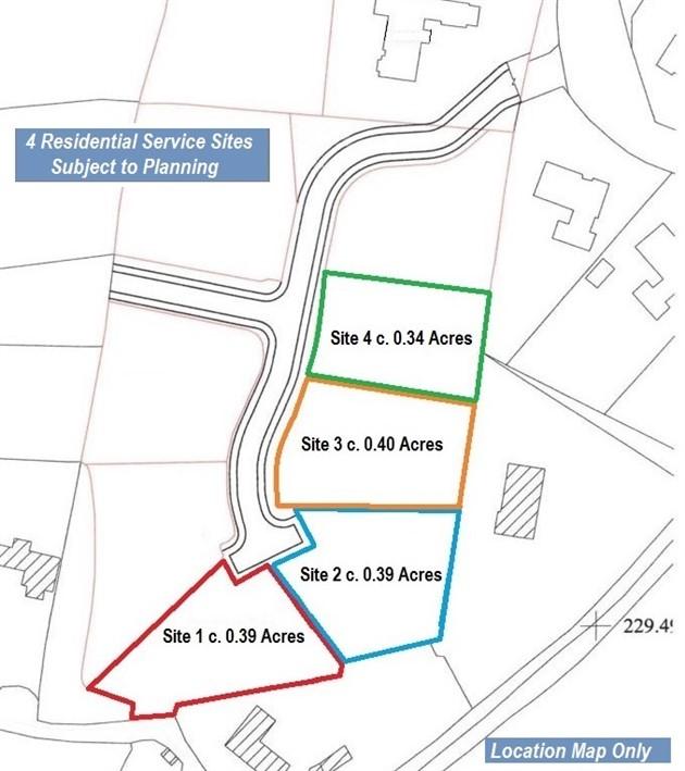 Four Residential Serviced Sites S.P.P., Blackdown, Kilteel, Co. Kildare