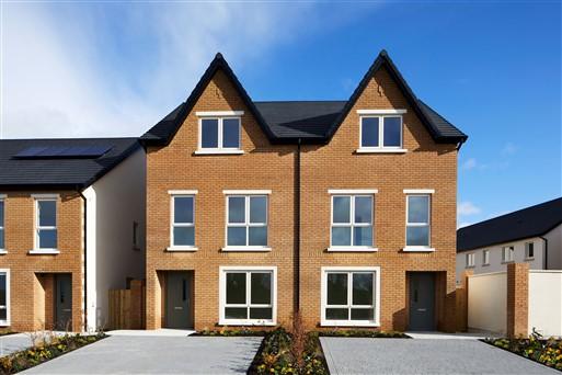 Oak Park, Naas, Co. Kildare – 4 bedroom semi-detached