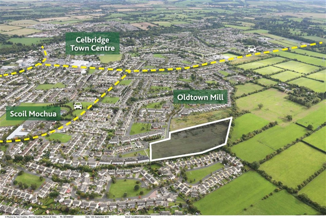 Oldtown Mill, Celbridge, Co. Kildare – Approx. 5.45 Acres (2.21ha) Zoned New Residential