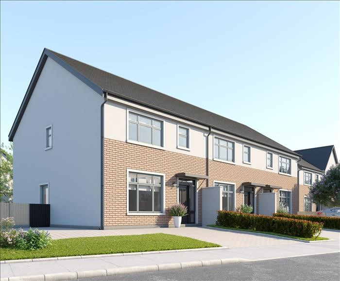 C1 House Type, 3 Bed mid terraced, Janeville, Carrigaline