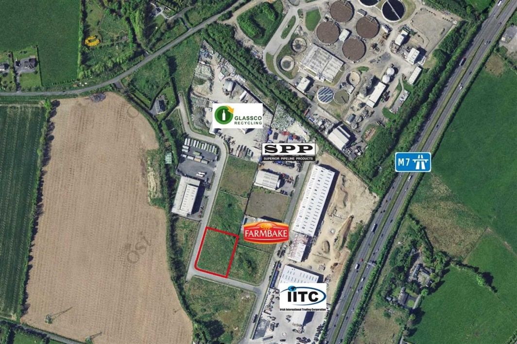 1 Acre Industrial Site At Osberstown Industrial Estate, Naas, Co. Kildare