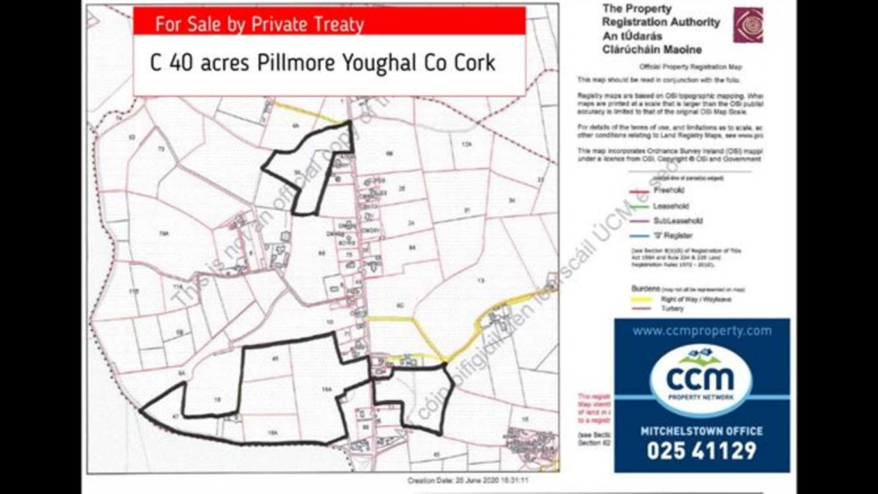 C 40 Acres Pillmore, Youghal, P36 NR74