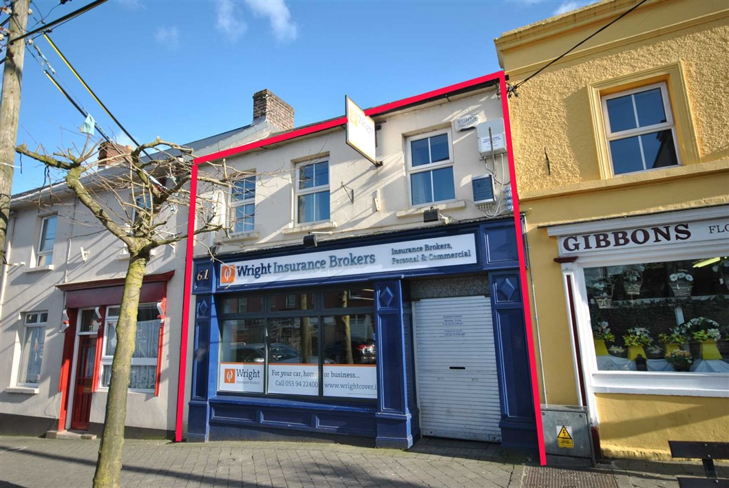 No. 61 Main Street, Gorey, Co. Wexford, Y25 R588