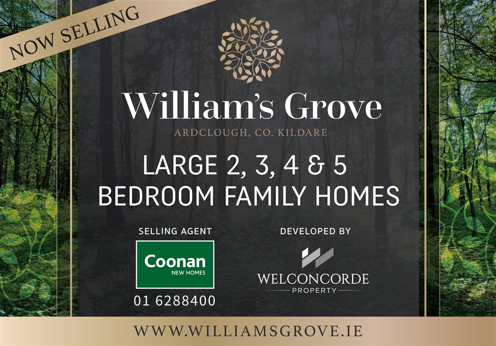 William's Grove, Ardclough, Straffan, Kildare