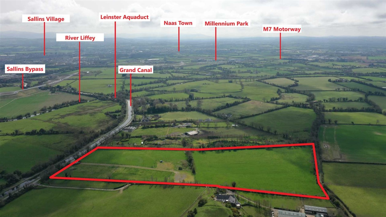 For Sale By Auction – Lands at Waterstown, Sallins, Co. Kildare
