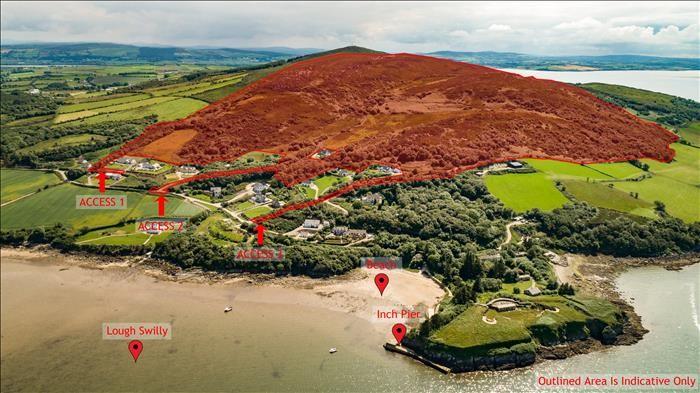 Grange, Inch Island, Donegal